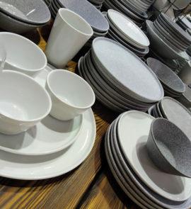 Posuda dlya restoranov i kafe Granit